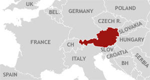 Austria - A country in the heart of Europe ... the gateway to the East/West